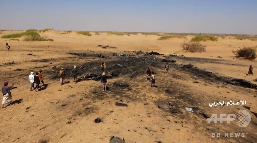 イエメン内戦、空爆で民間人31人が死亡 連合軍機撃墜の報復で誤爆か