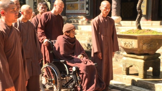 動画:世界的に有名なベトナムの僧侶、故郷へ戻る