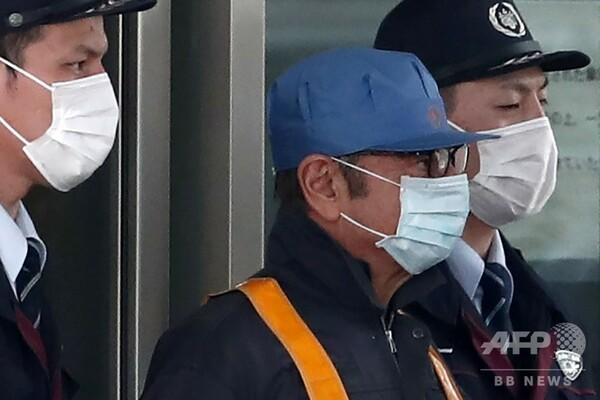 ゴーン被告、保釈される 東京拘置所から作業服姿で