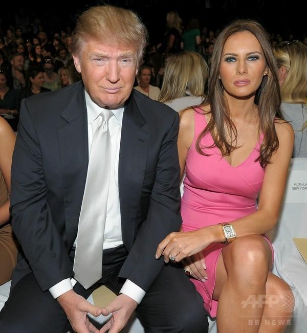 トランプ氏、妻のヌード写真で激怒 「クルーズ夫人の秘密ばらす」