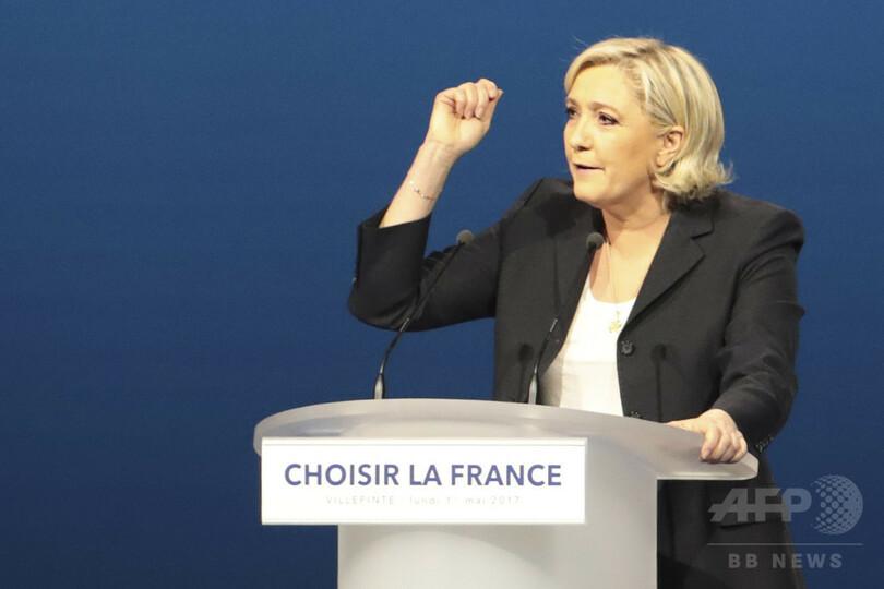 演説盗用は話題集めが目的、ルペン氏明かす 仏大統領選 写真3枚 国際 ...