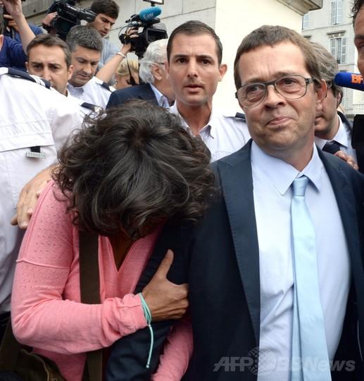 安楽死裁判で元医師に無罪、末期患者7人に薬物投与 フランス