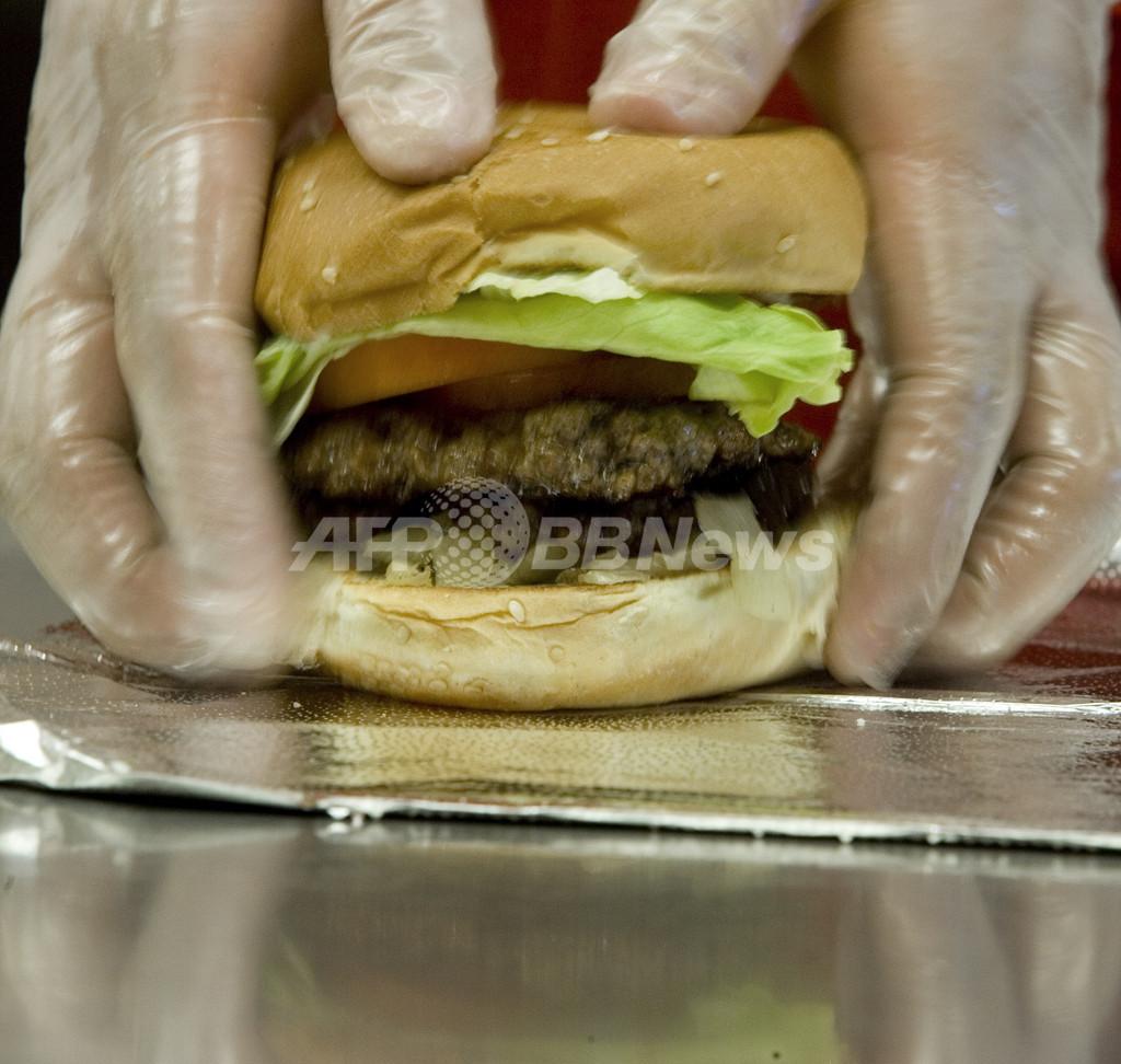 米国民の癒しとなるか、4800kcalの巨大ハンバーガー