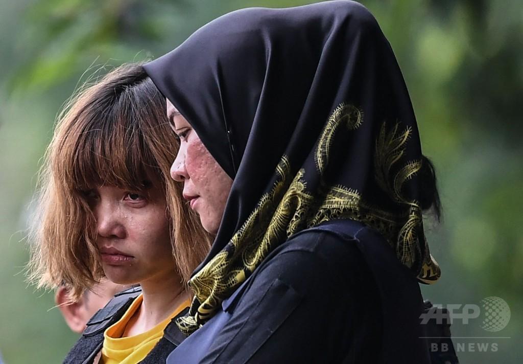 金正男氏暗殺事件、初公判 被告2人は無罪を主張 マレーシア