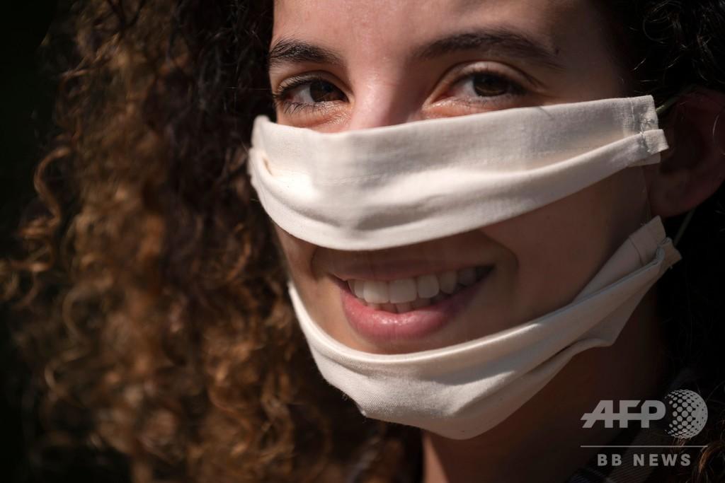「あなたの唇は私の耳」 聴覚障害者のためのマスク、資金募る 仏