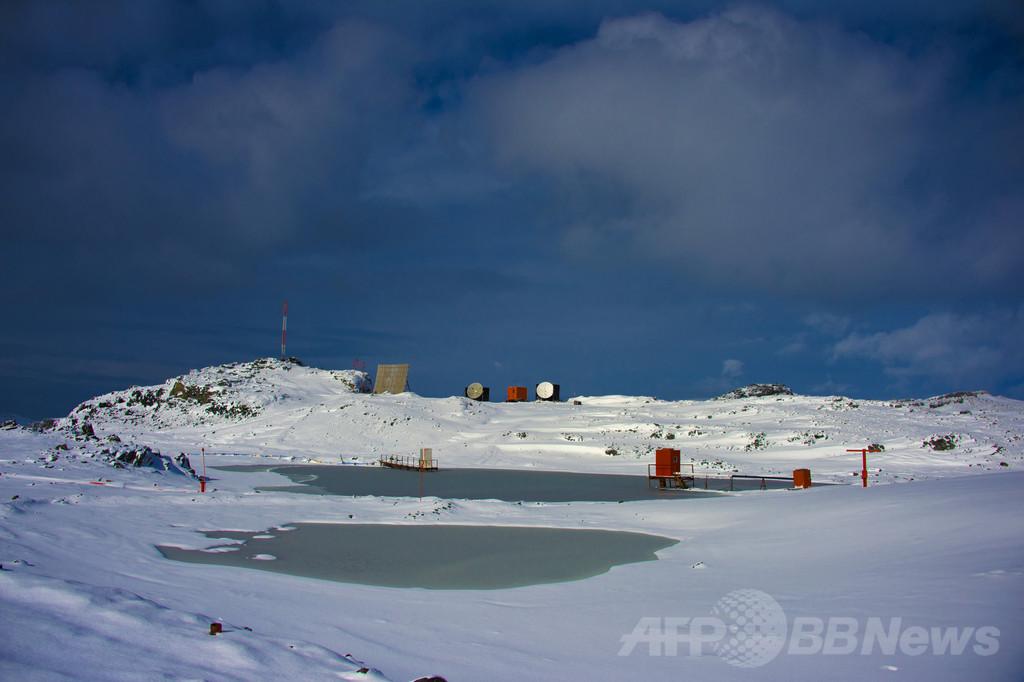 1500年前のコケ、再生に成功 南極氷床下で採取