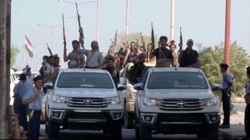 動画:イエメン反体制派、ホデイダ港から撤退開始 政府側は疑念