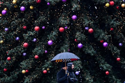 【今日の1枚】寒くても温かい、モスクワのクリスマス