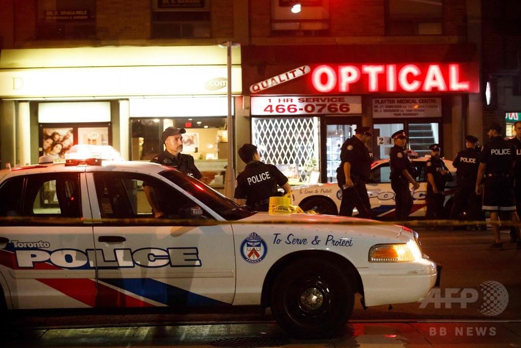 カナダ・トロントで発砲事件、2...