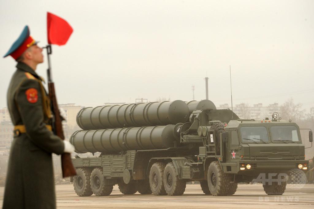 ロシア、イランへのS300ミサイル禁輸を解除