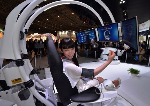 自動運転からARまで、未来の技術が満載 CEATEC開幕