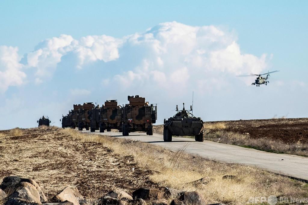 シリア内戦、2020年の死者6800人 内戦発生後で最少