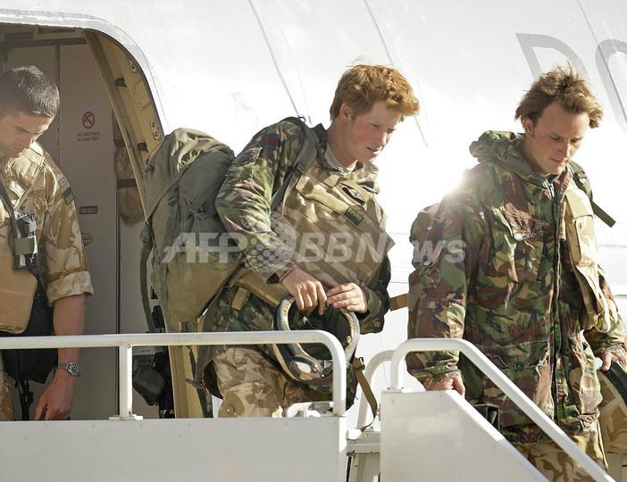 ヘンリー王子、英国に帰還