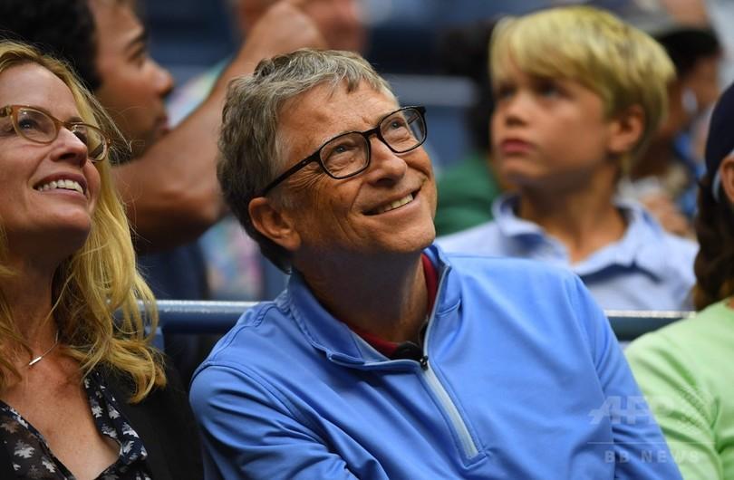 ビル・ゲイツ氏、大富豪は「もっと税金支払うべき」 納税額は1兆円超