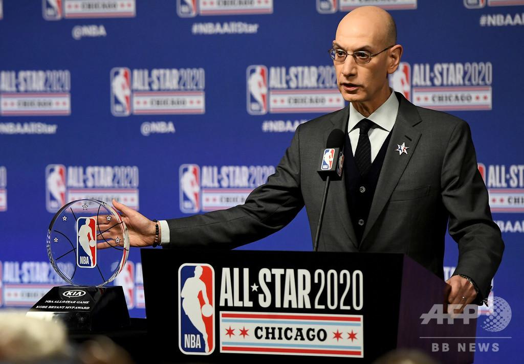 NBAコミッショナー、再開地で感染者急増も「非常に安心している」