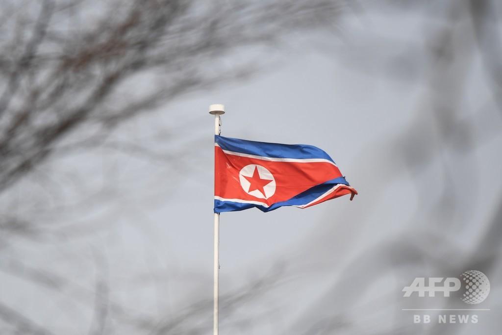 北朝鮮が「短距離」の飛翔体2発発射 米韓が明らかに