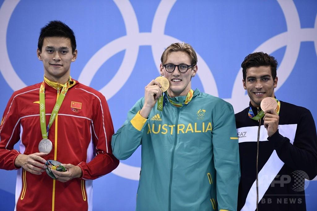 中国水泳協会、孫楊を「薬物違反者」と発言した豪選手に謝罪を要求