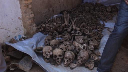 動画:遺骨200体超発見、1994年ルワンダ大虐殺の犠牲者ら