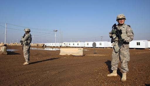 米軍駐留基地にロケット弾 イラク首都近郊、死傷者なし