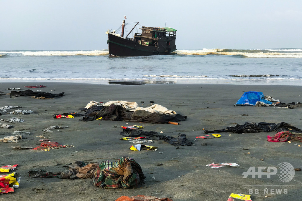 ロヒンギャ船、コロナ懸念で着岸拒否相次ぐ 60人死亡の船も