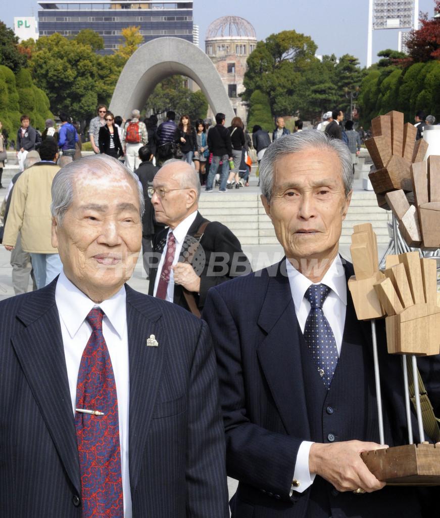 原発に警鐘鳴らすヒロシマ・ナガサキの生存者たち