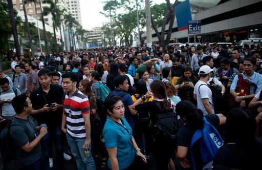 フィリピンでM6.3の強い地震、5人死亡