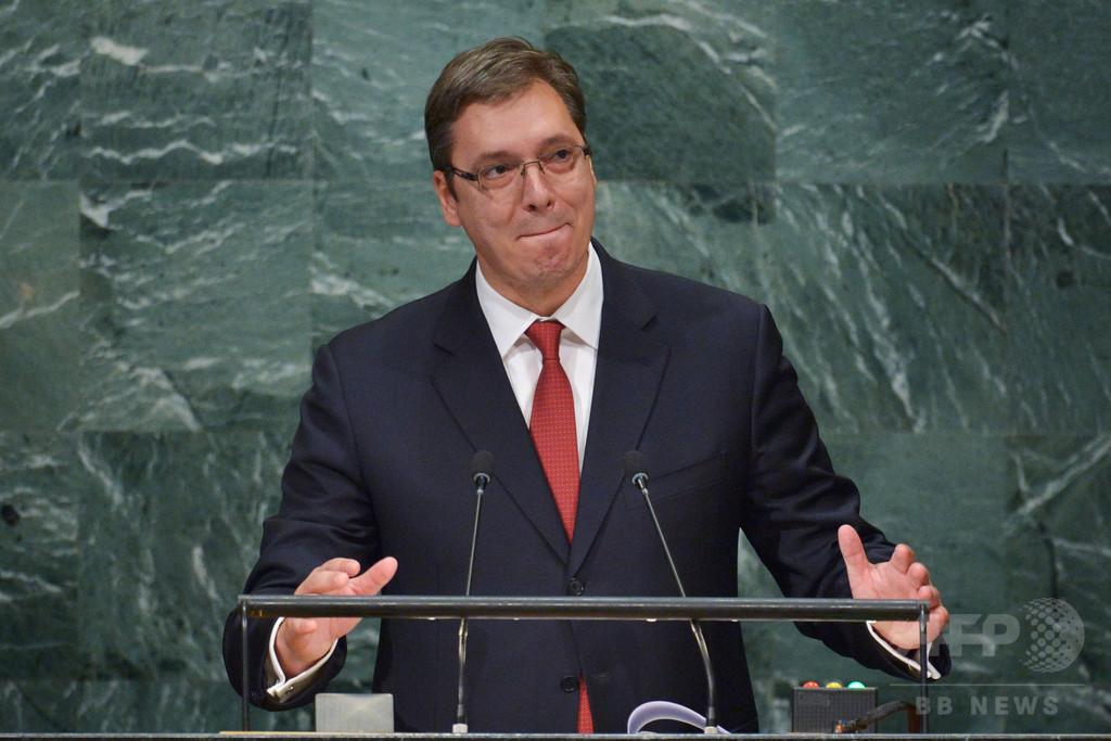 セルビア首相宅近くでロケットランチャーなど発見、暗殺の準備か