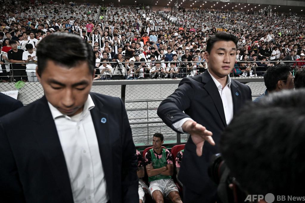 ロナウド欠場で「精神的苦痛」 韓国裁判所が主催者に賠償命令