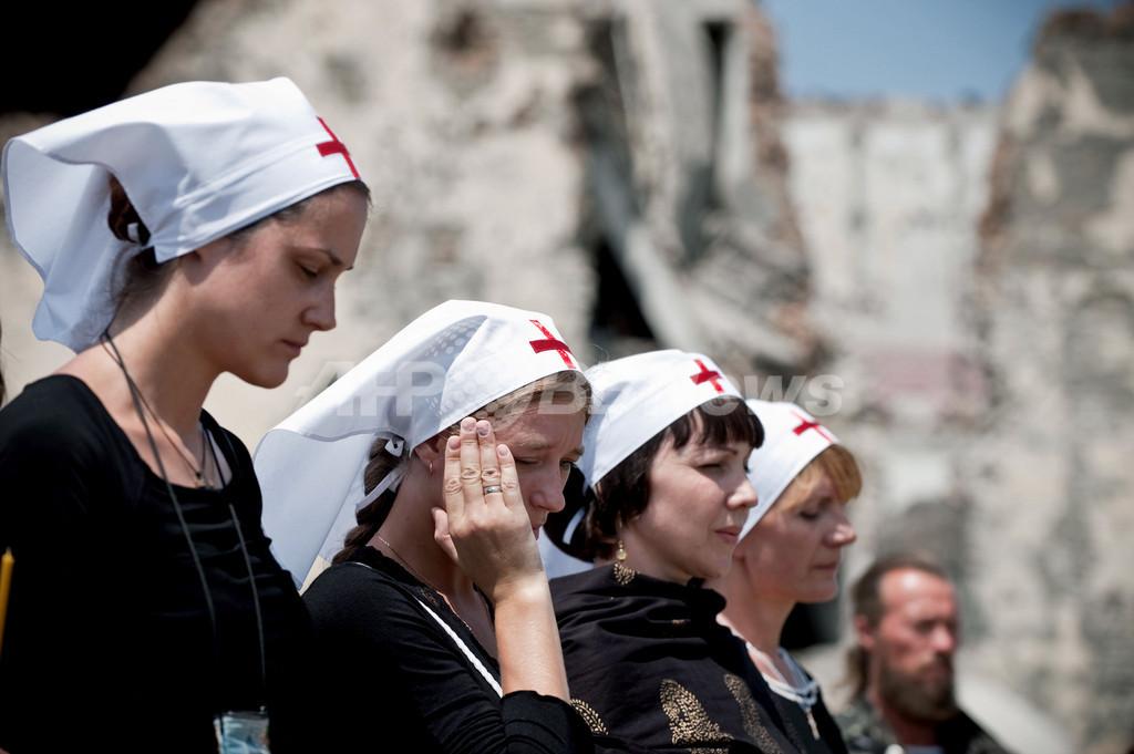 グルジア紛争から1年、ロシアとグルジア両国が非難の応酬