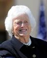 バーバラ・ブッシュ夫人、「健康状態悪化」で治療断念を自ら決意