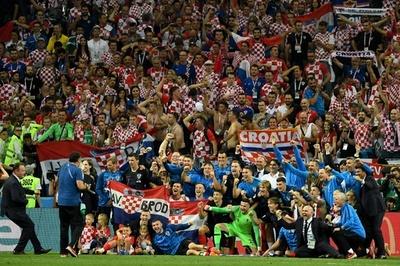 【写真特集】延長戦を制し史上初の決勝へ、クロアチア対イングランド
