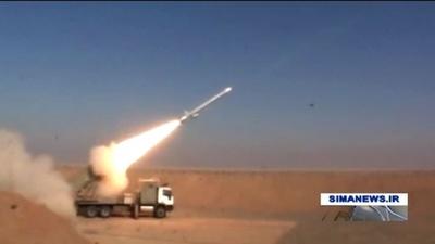 動画:革命から40年祝うイラン、新型巡航ミサイル実験成功と発表