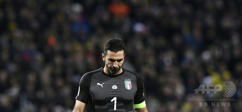 スウェーデンがW杯PO先勝、常連国イタリアは窮地に