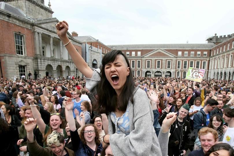 中絶容認派が勝利、アイルランド国民投票 最終結果