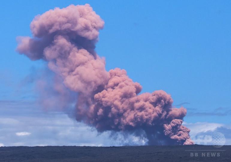 米ハワイのキラウエア火山が噴火、避難指示 非常事態宣言も