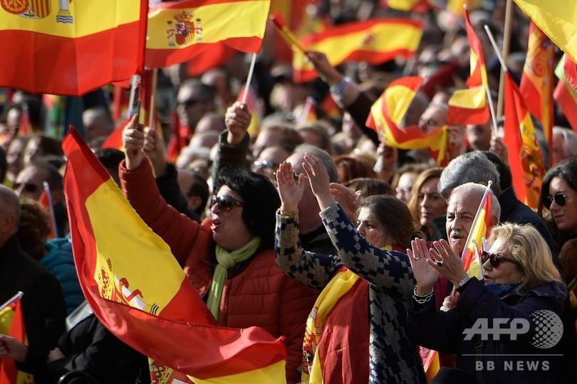 スペイン、州議会選で極右政党が議席 民主化後初