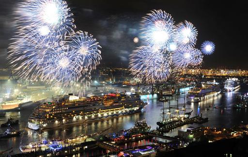 ハンブルク開港823年、盛大な記念式典 ドイツ
