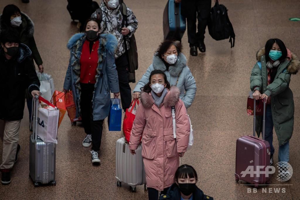新型肺炎、武漢で新たに15人死亡 中国国内の死者41人 患者1287人に