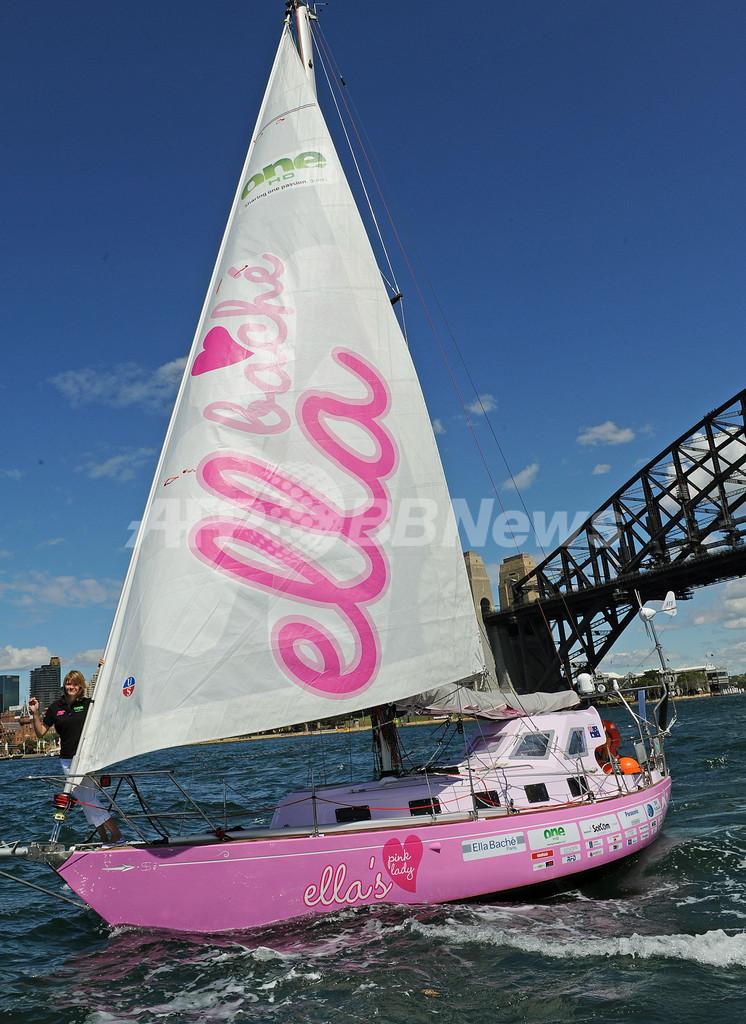 オーストラリアの16歳少女、ヨットで単独世界一周の航海に出発