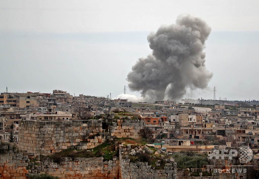 シリア・イドリブ攻勢で戦争犯罪 国連調査委が結論