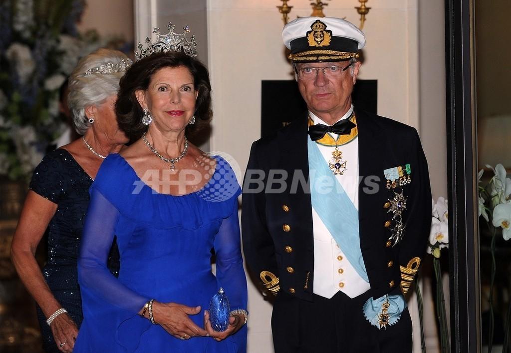 ドイツのレストラン、スウェーデン国王夫妻の入店断る