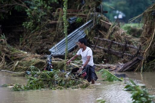 ダム決壊のミャンマー、救助活動続く 6万人以上に影響か