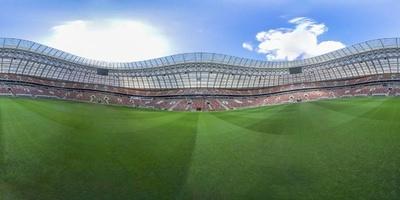【360°パノラマ写真】ロシアW杯決勝の舞台、ルジニキ・スタジアム
