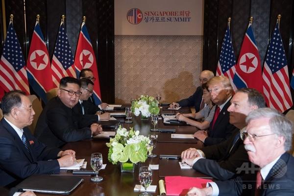 米朝首脳会談の前に開かれなかった国家安全保障会議
