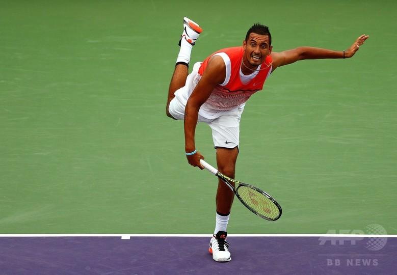 キリオスまた暴言、テニスは「偏見まみれの終わったスポーツ」