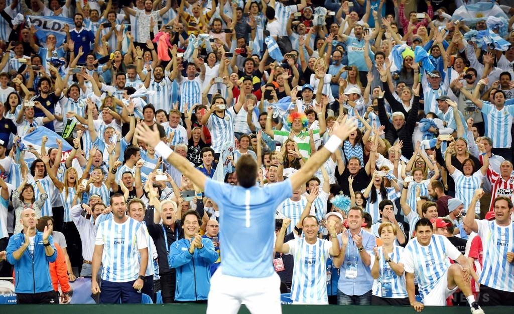 アルゼンチン「五度目の正直」でデ杯初優勝! デルポトロが大仕事