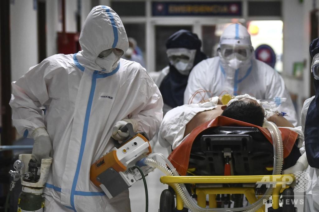 新型コロナ患者の死を生放送、テレビ番組に非難殺到 ボリビア