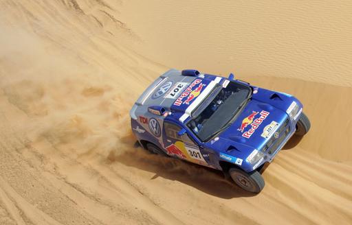 <ダカールラリー2007>ドゥビリエ 第8ステージを制し総合首位をキープ - モーリタニア