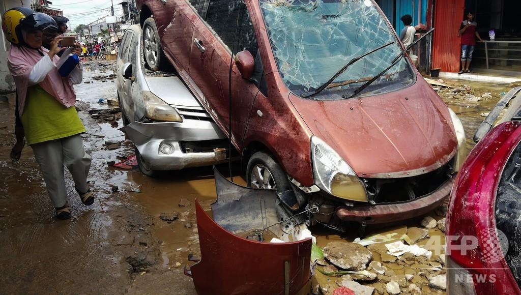 インドネシア洪水、死者29人に