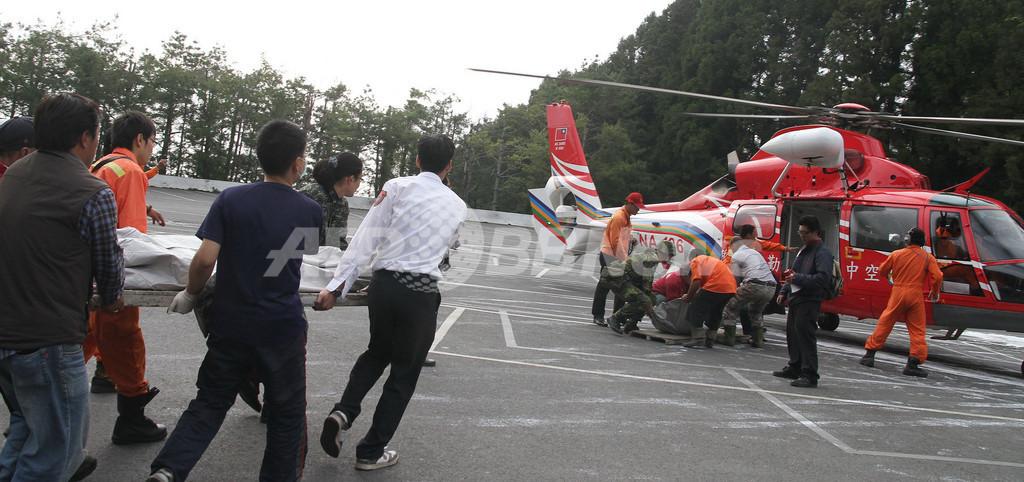 台湾・阿里山で列車脱線、6人死亡